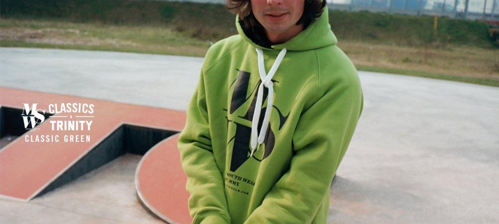 MSW Classic Kush Green Hoodie
