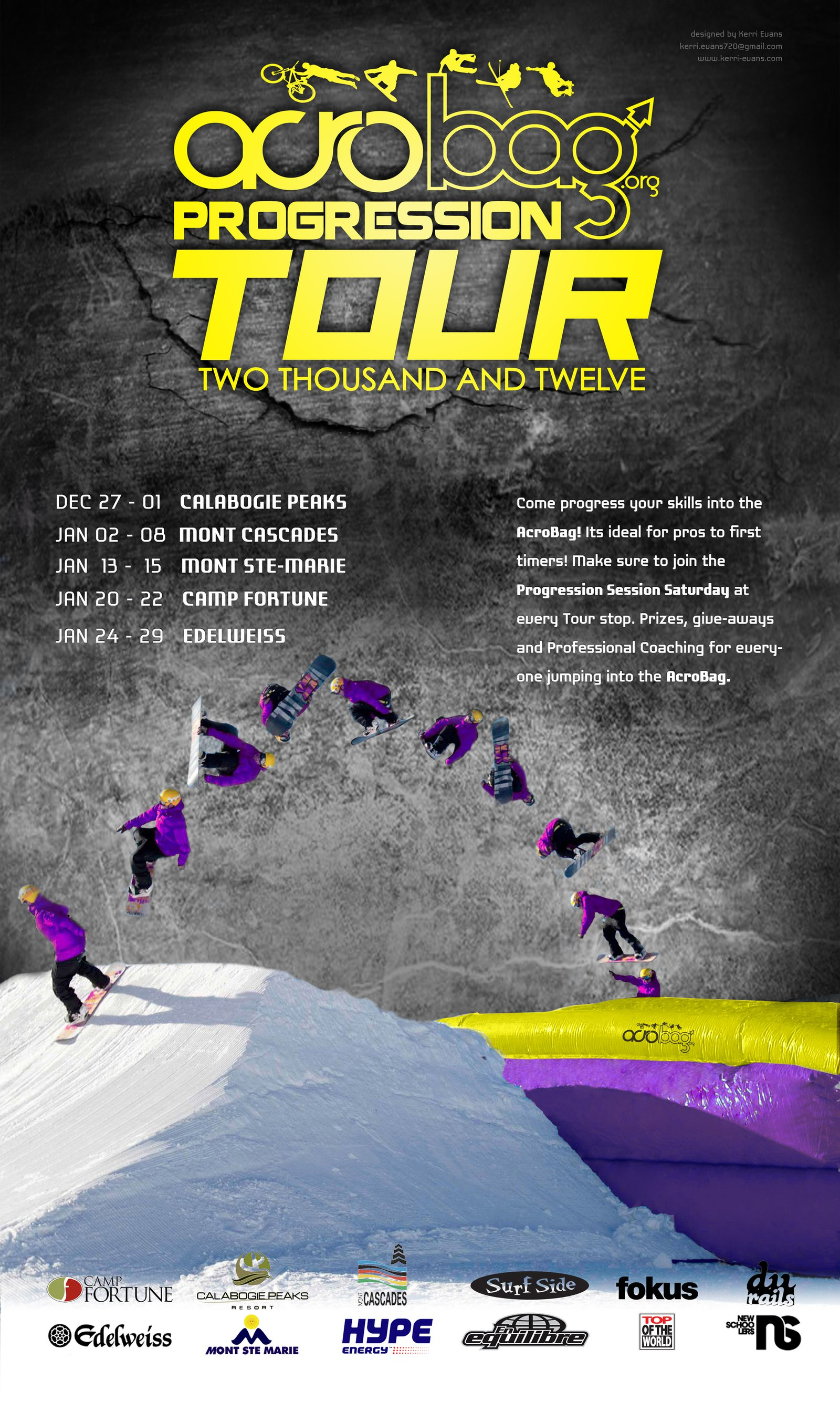 THE PROGRESSION TOUR 2012