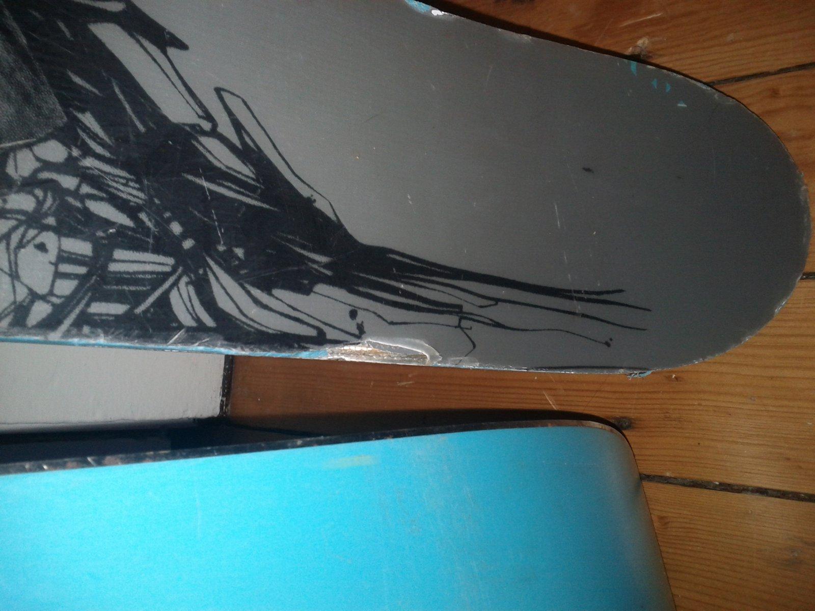 chronics top sheet damage
