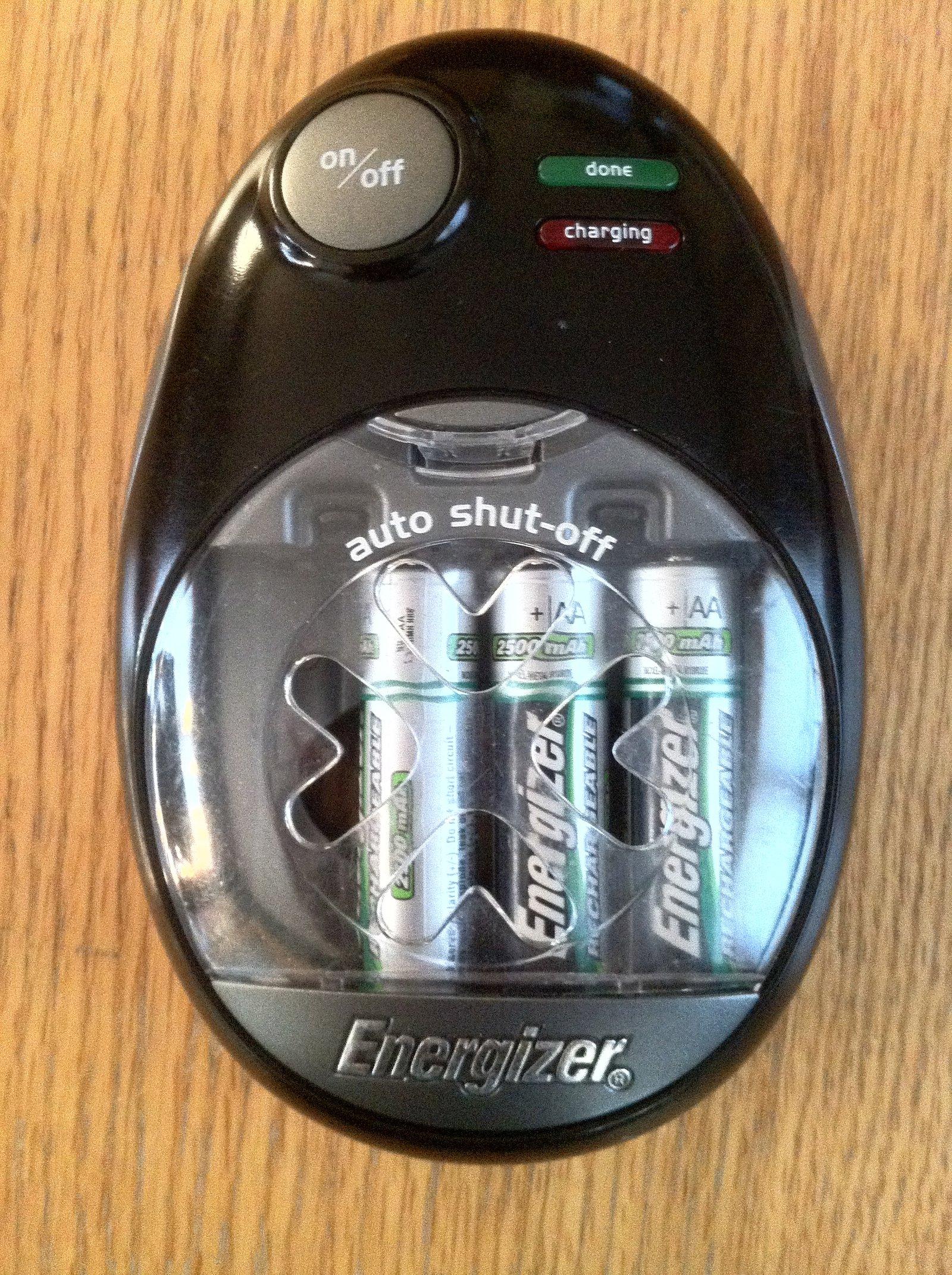 rechargable batteries, 3 of them