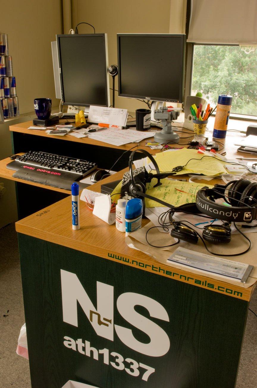 Mr.Bishop's Desk