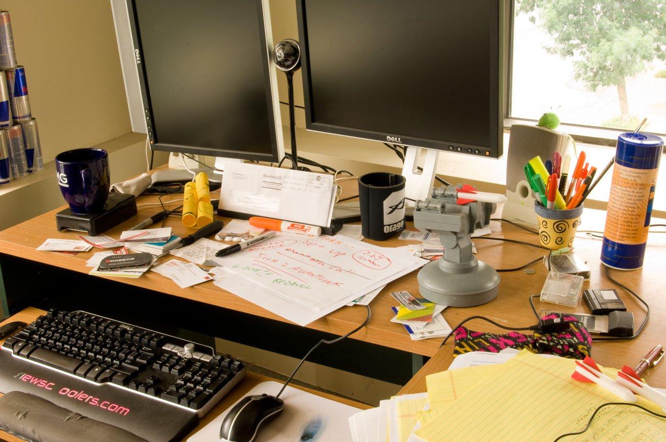 Desk Close up