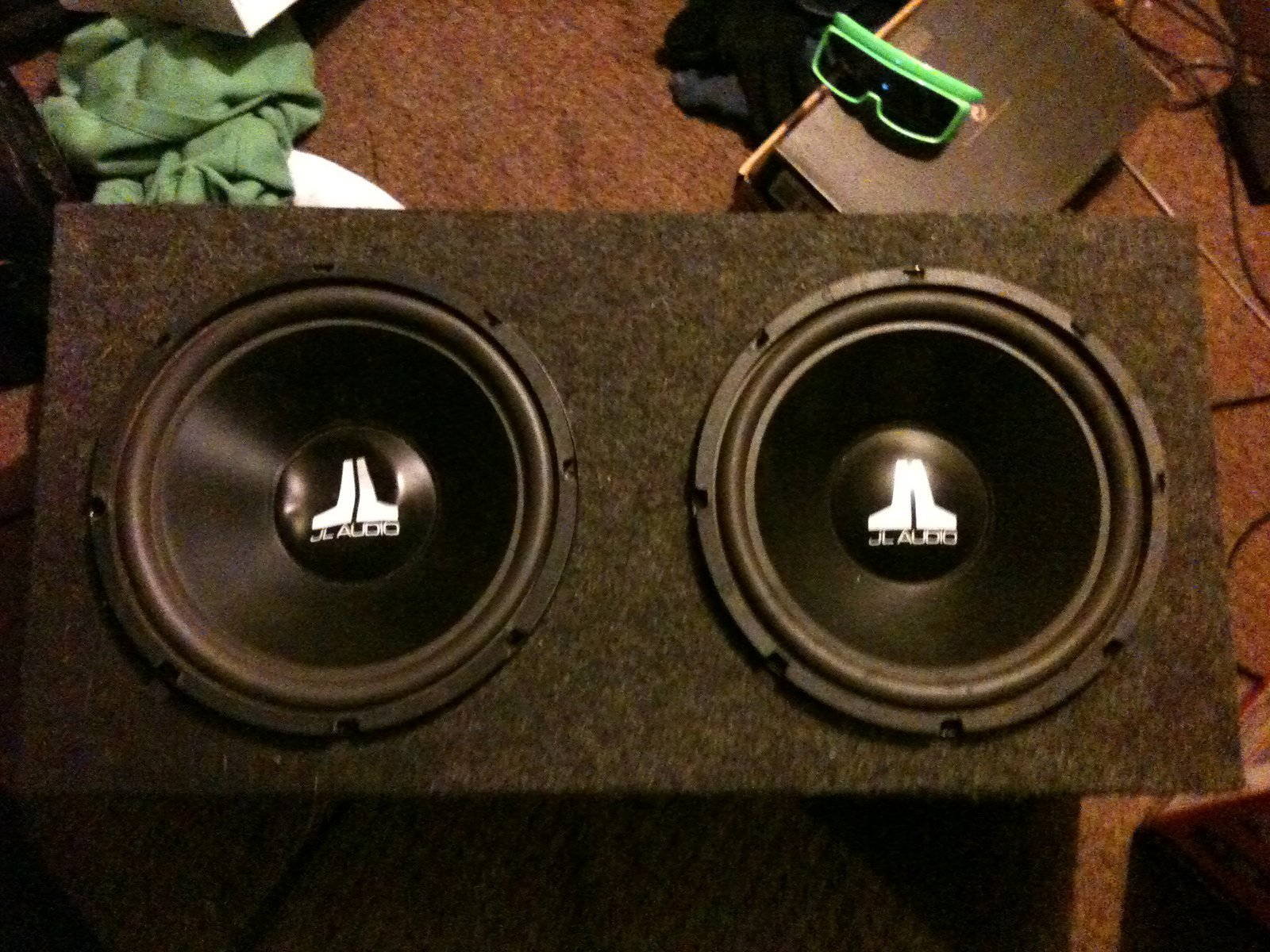12in subs with box