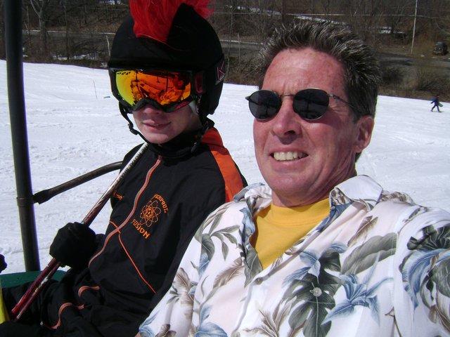 Song Mountain Spring Skiing