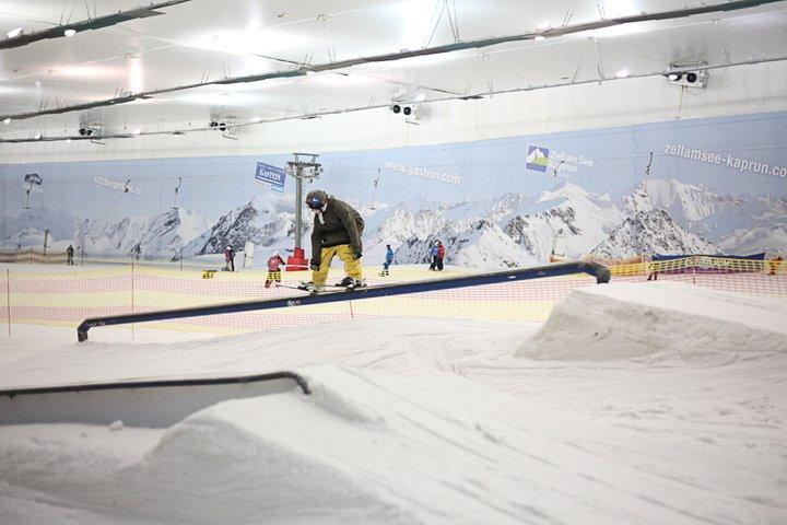 from indoor ski resort