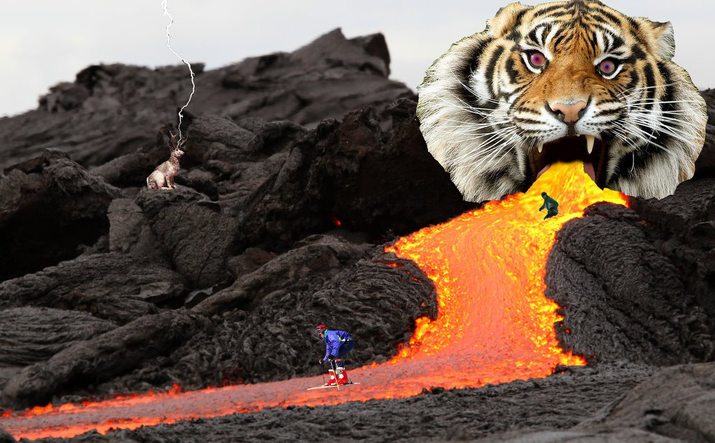 Tiger Lava Mountain