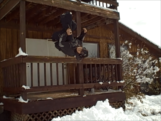 backflip off porch
