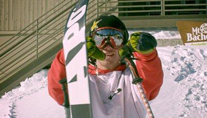 Sammy Carlson Signs With APO Skis