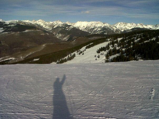 ski break from work