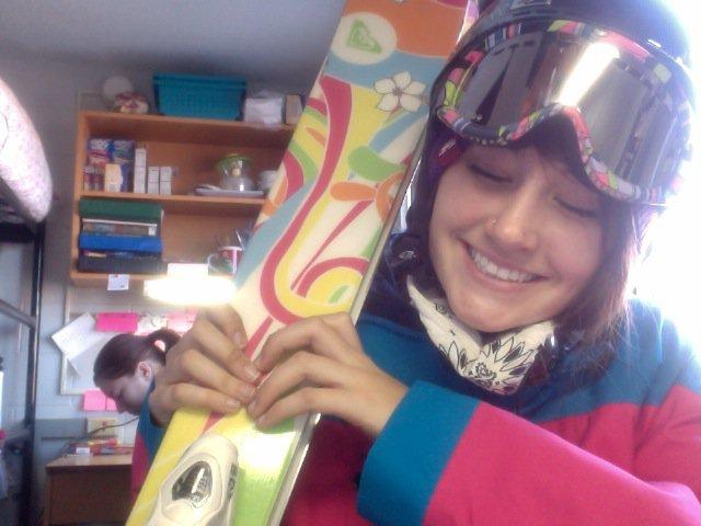 i wanna ski
