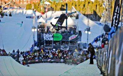 Dew Tour Men's Ski Superpipe Semi-Finals