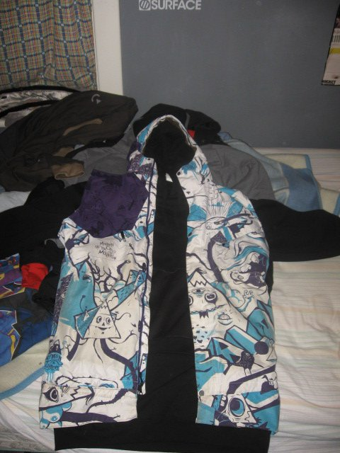 Xl magic vest with custom fabric with 5xl hoodie