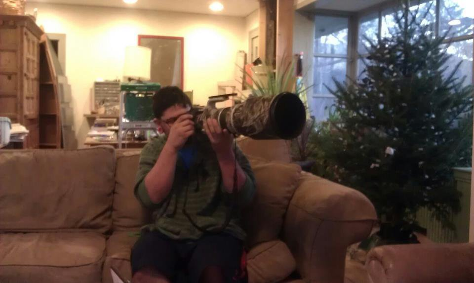 big ole camera