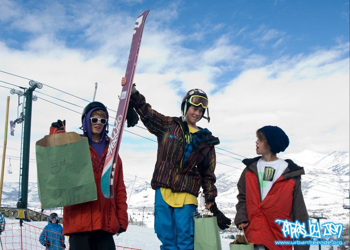 1st place slopestyle comp!