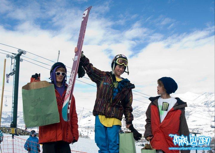 1st place slopestyle comp!