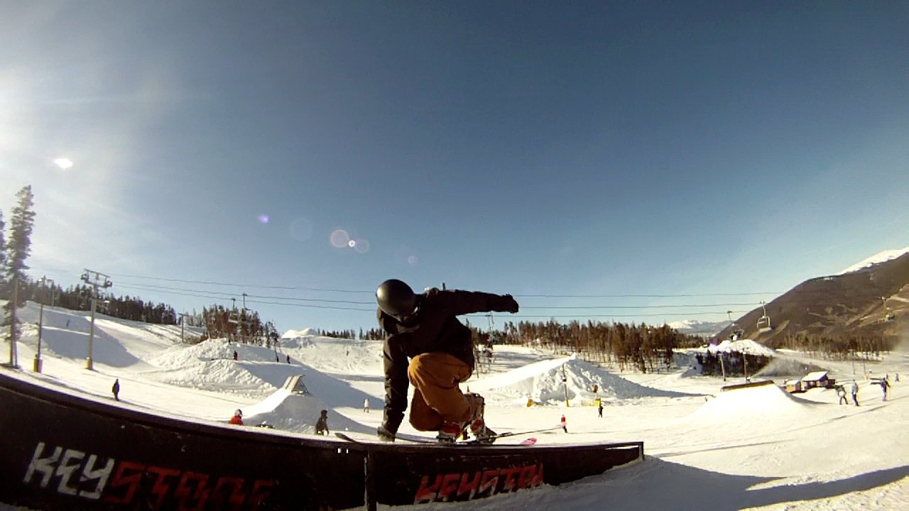 Telemark Nopoles Sick Grab Slide What?!