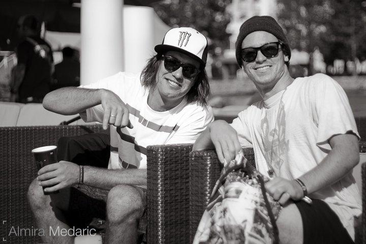 Luke and Sean Pettit