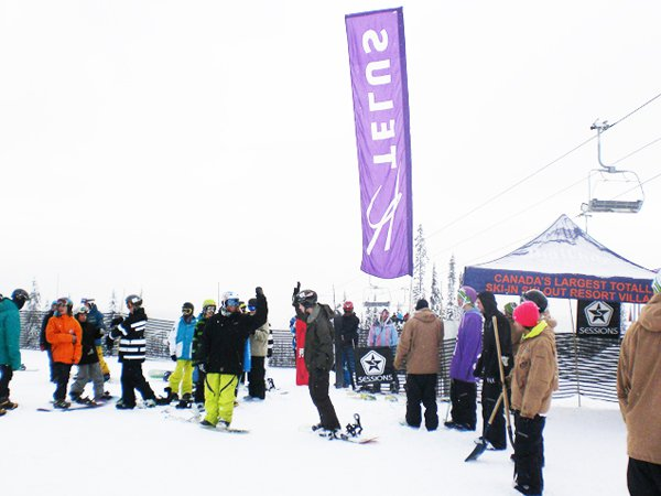 Happy Holidays from your Big White TELUS Park Crew!