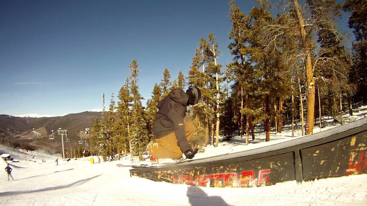Telemark Nopoles Grab Slide Sickness