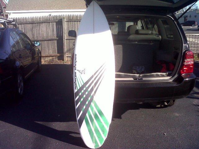 new surfboard!