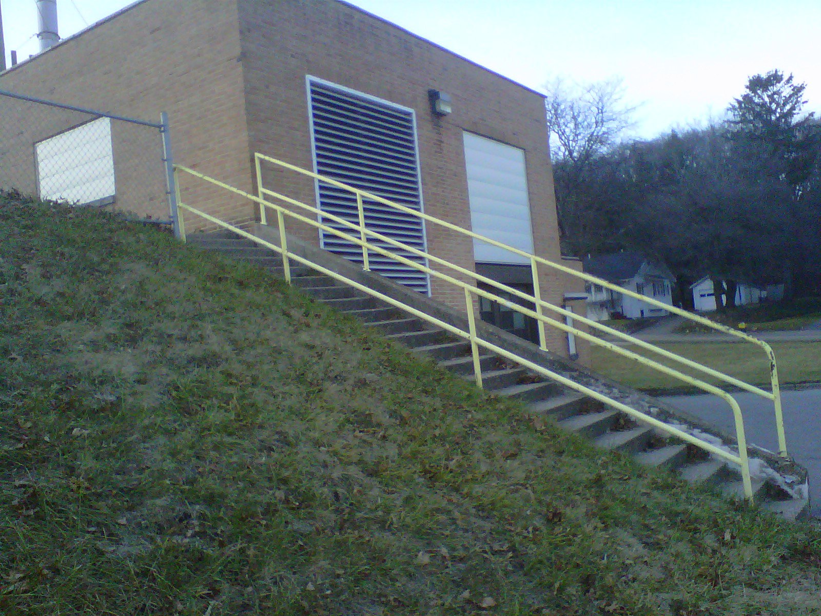 south middle handrails