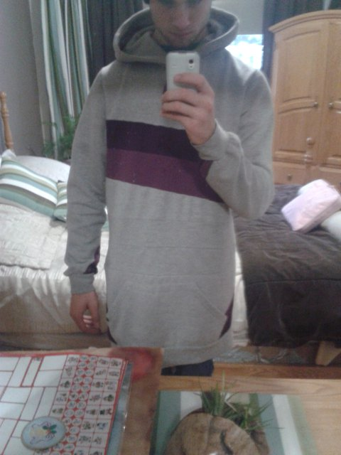 homemade hoodies