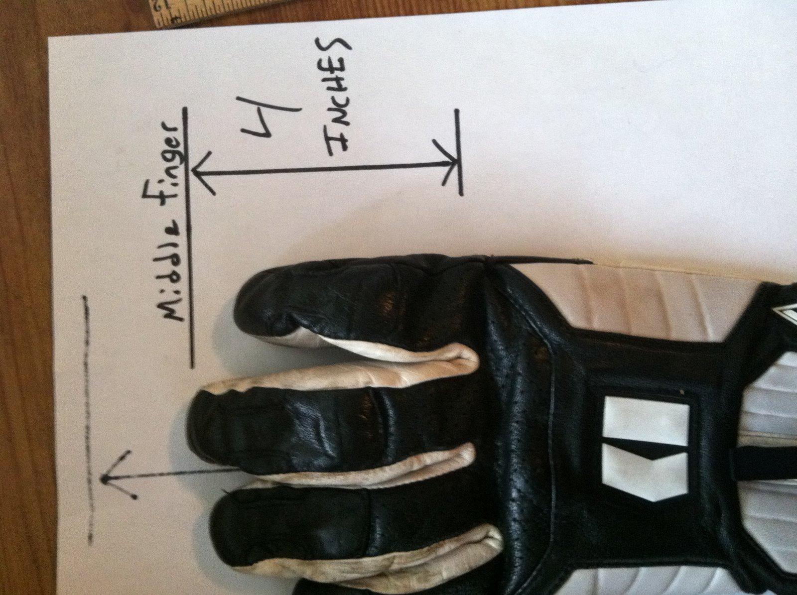 gloves finger