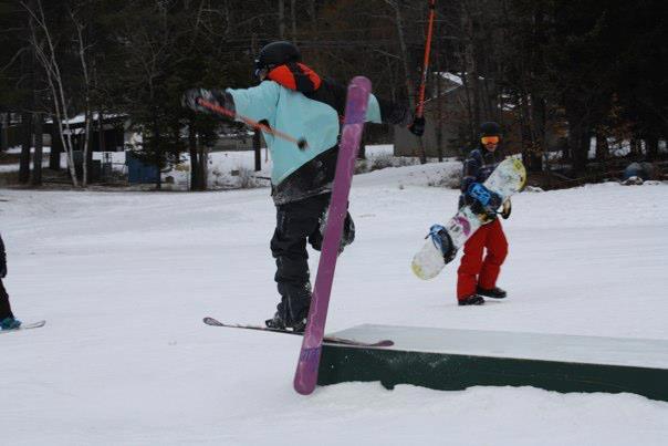 Silly Kids And Their Ski Tricks