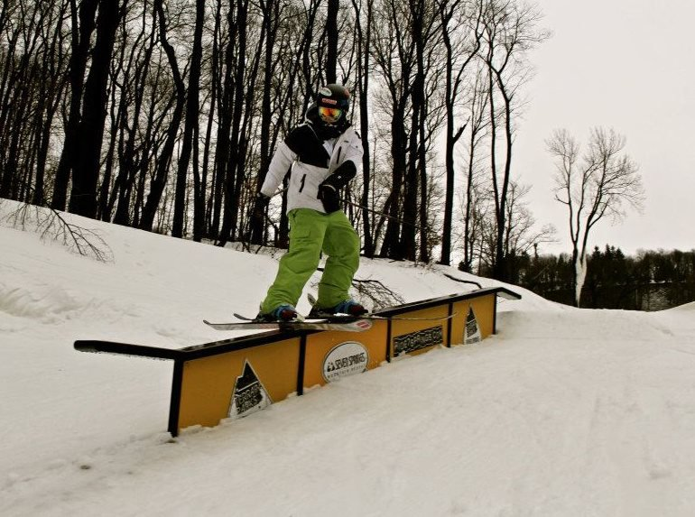 7 springs down rail