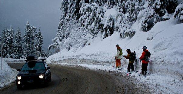 Upper road shots