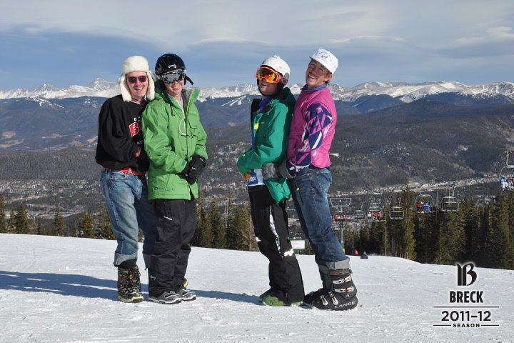 getting saucy at breck