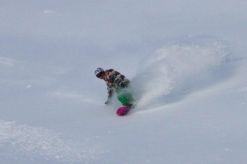 Powder at The Lake Louise Ski Area