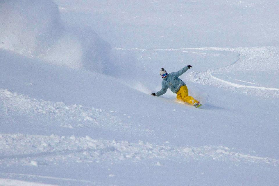 Powder at Lake Louise