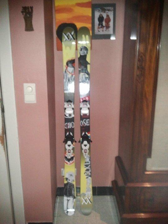 völkl wall ski