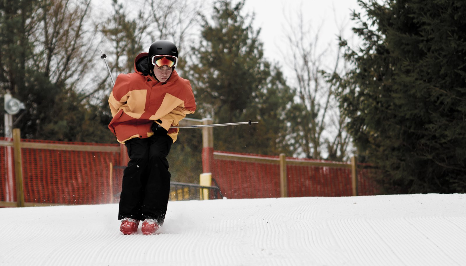 The Season Of Boot Skiing.
