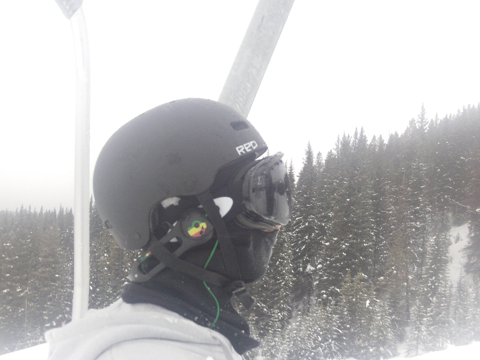 going up the lift