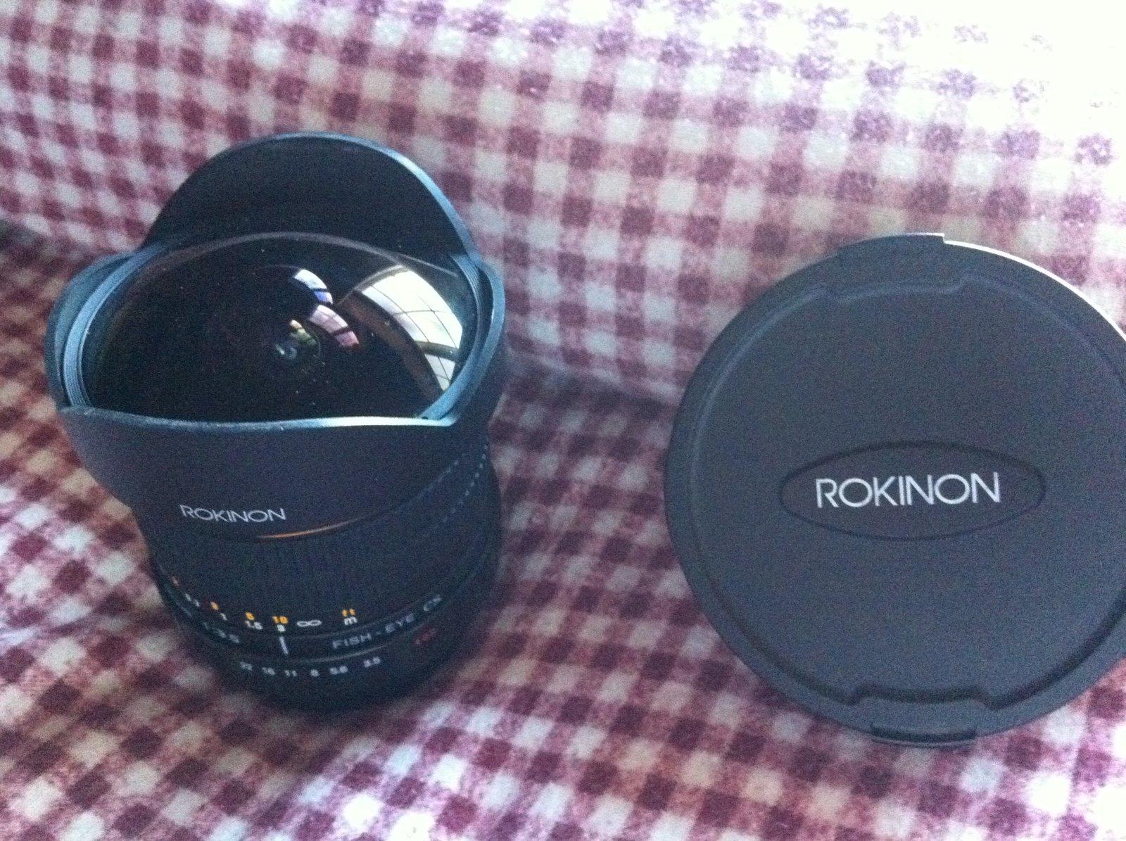 rokinon 8mm fisheye