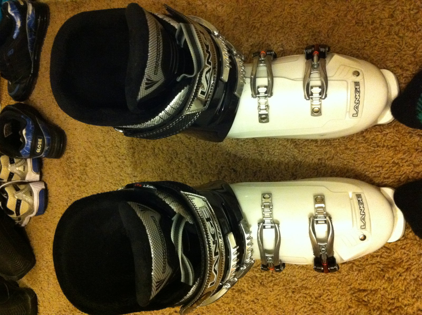 My first ski boots!