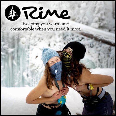 Facemasks keep you warm
