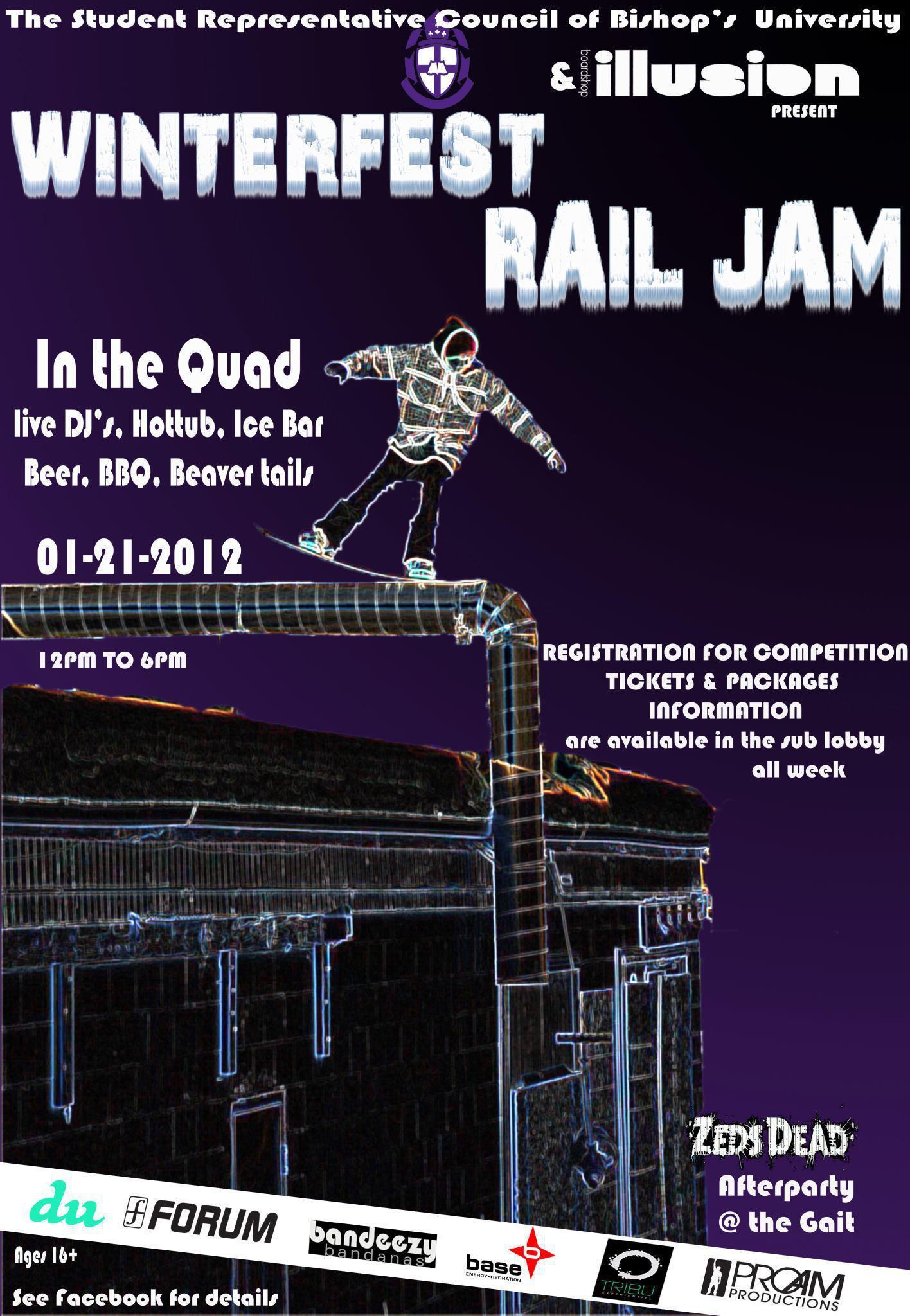 Bishops University Rail Jam