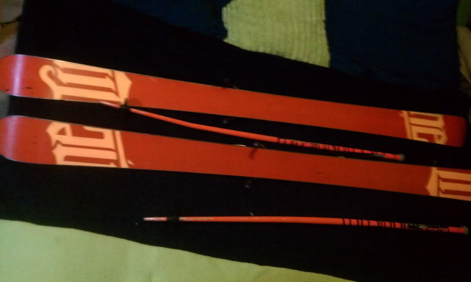 my line park skiis