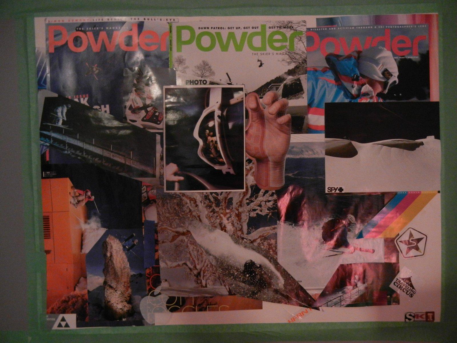 Powder Magazine Collage