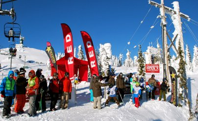 Canadian Open Freeskiing Championships Begins