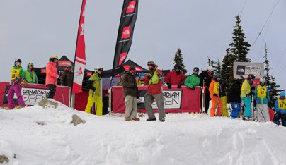 Canadian Open Freeskiing Championships Day 1