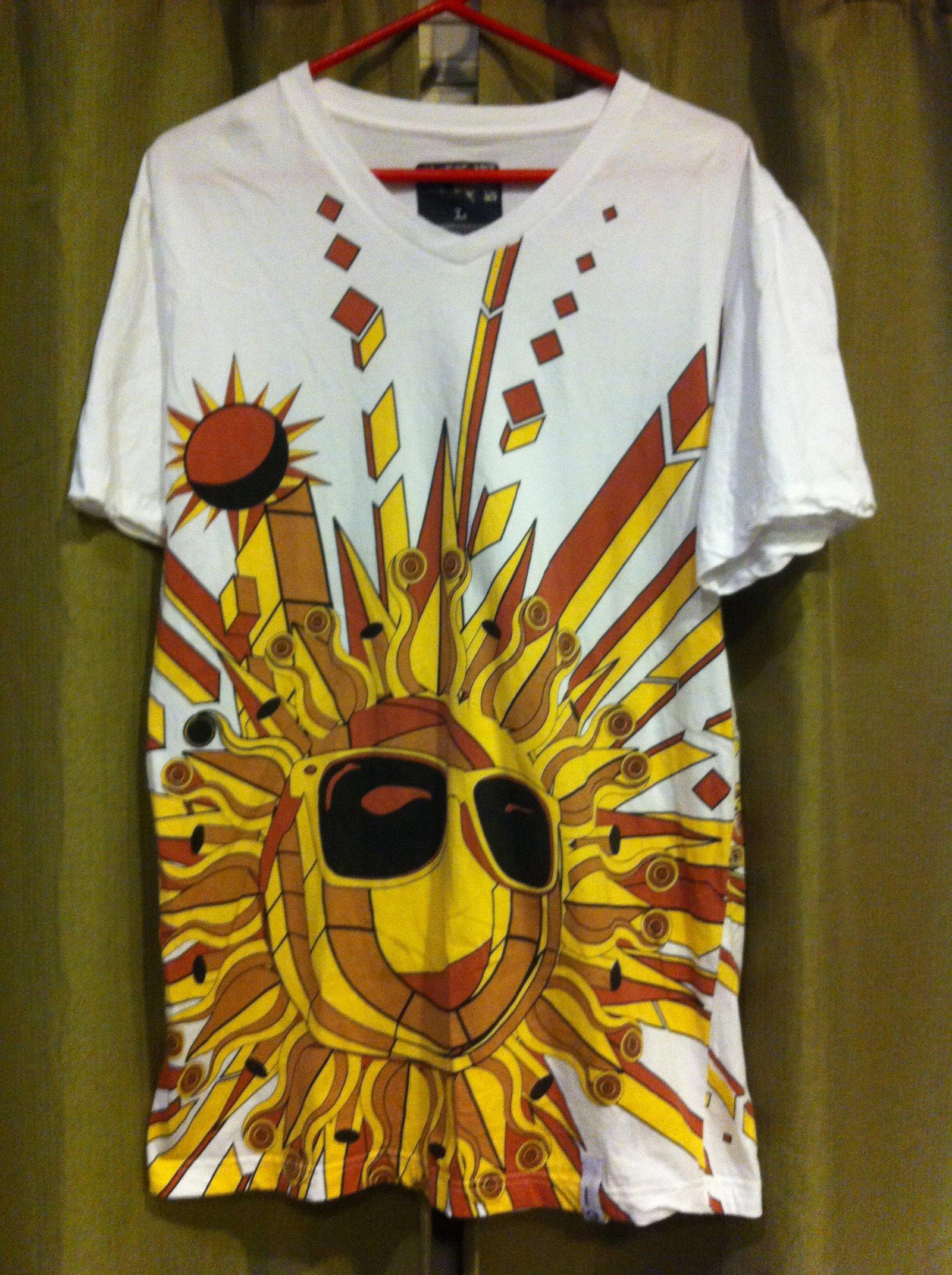 jiberish sun shirt
