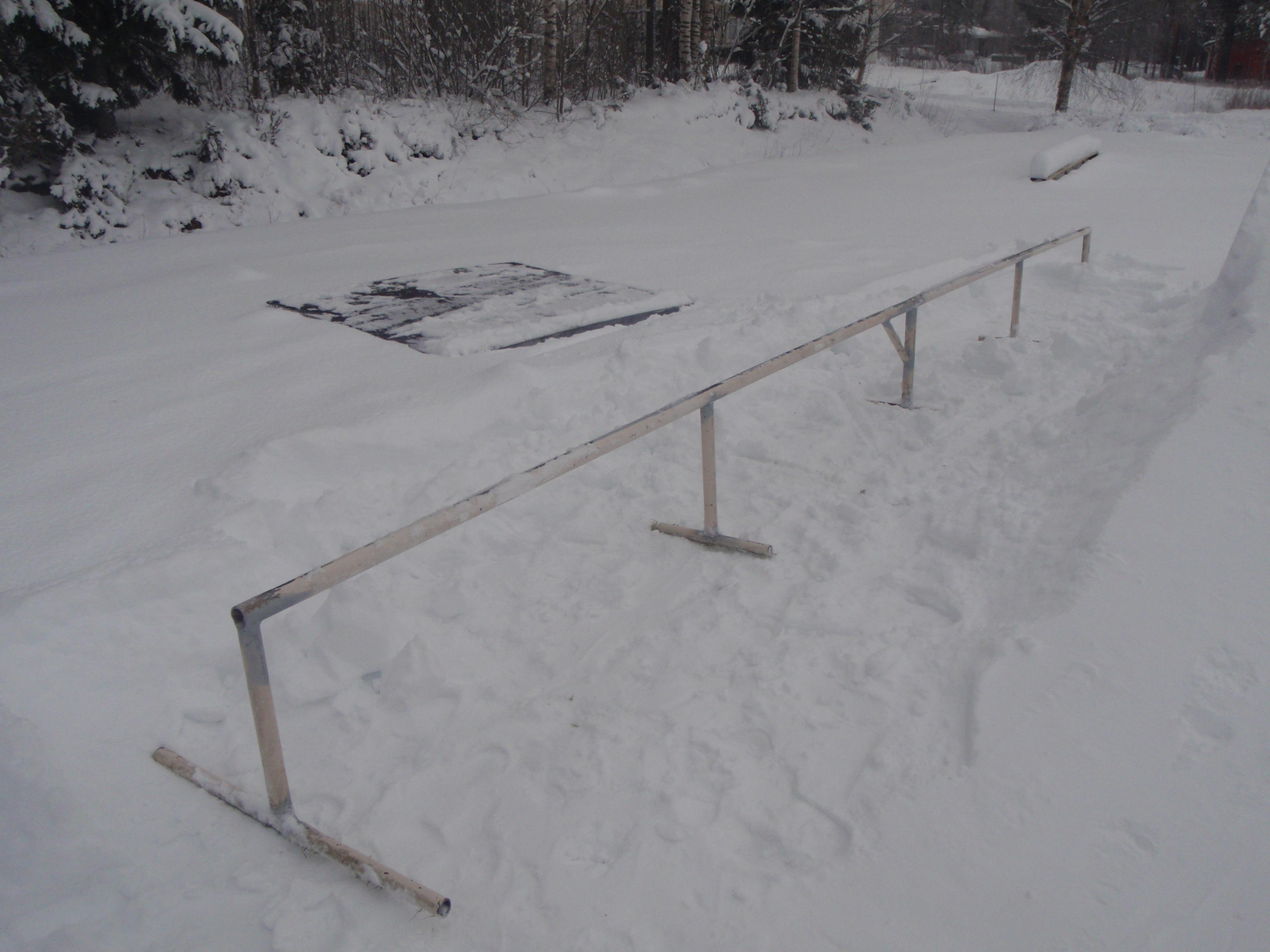 backyard setup ski gabber newschoolers com