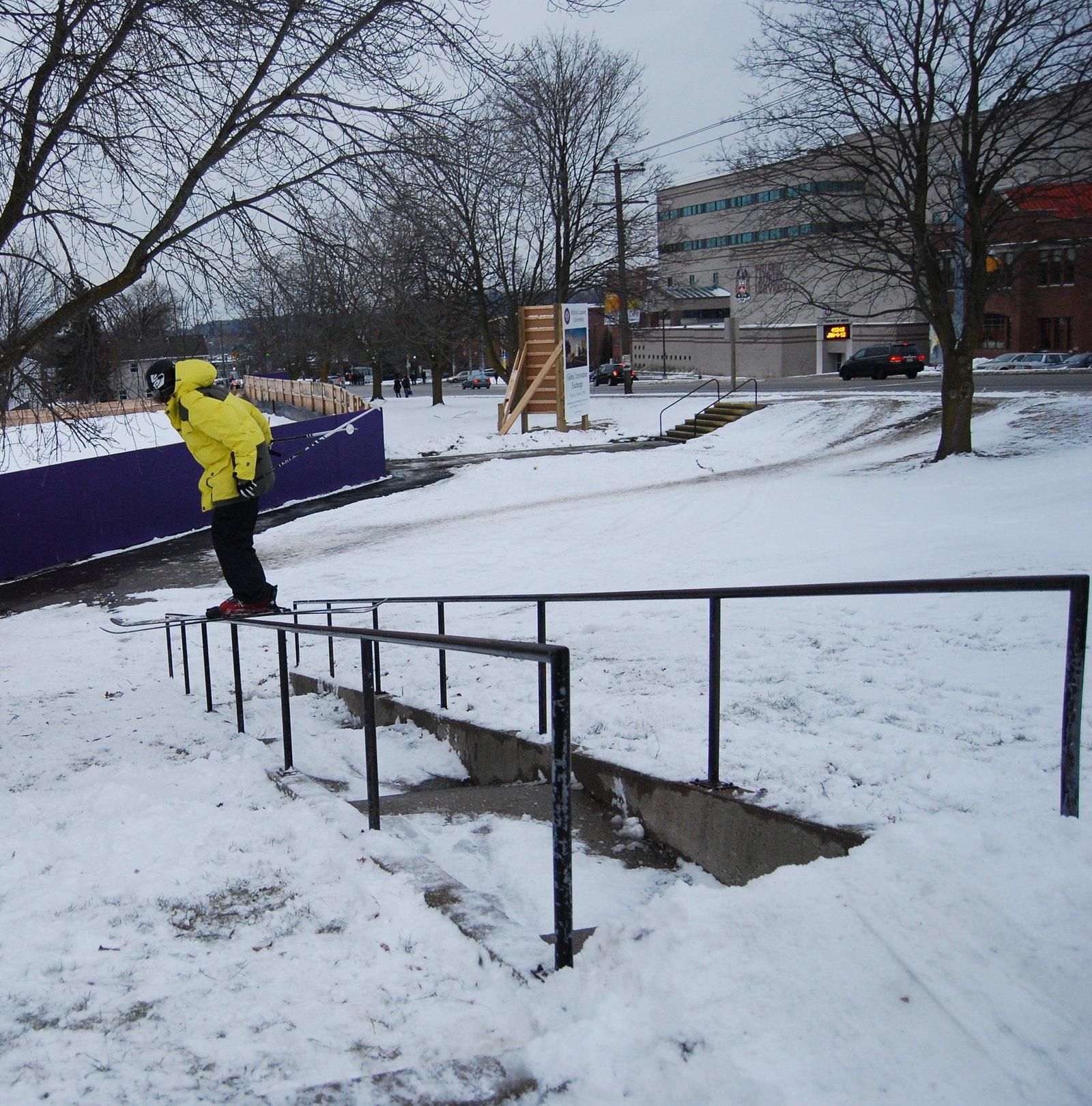 40 Foot Down Rail