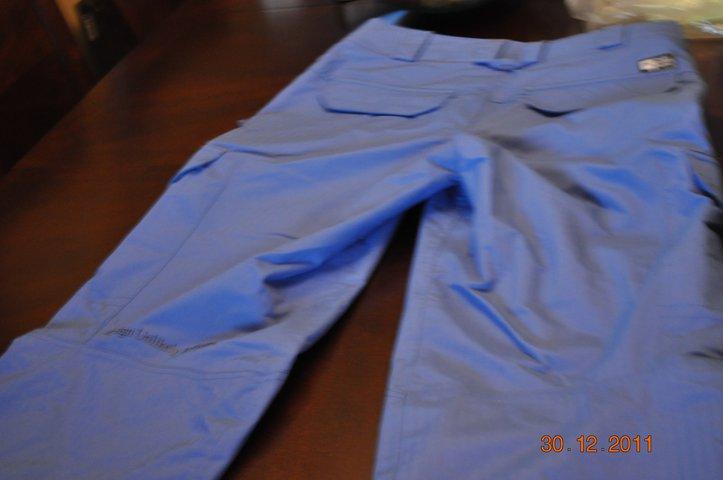 Blue asset pant (back)