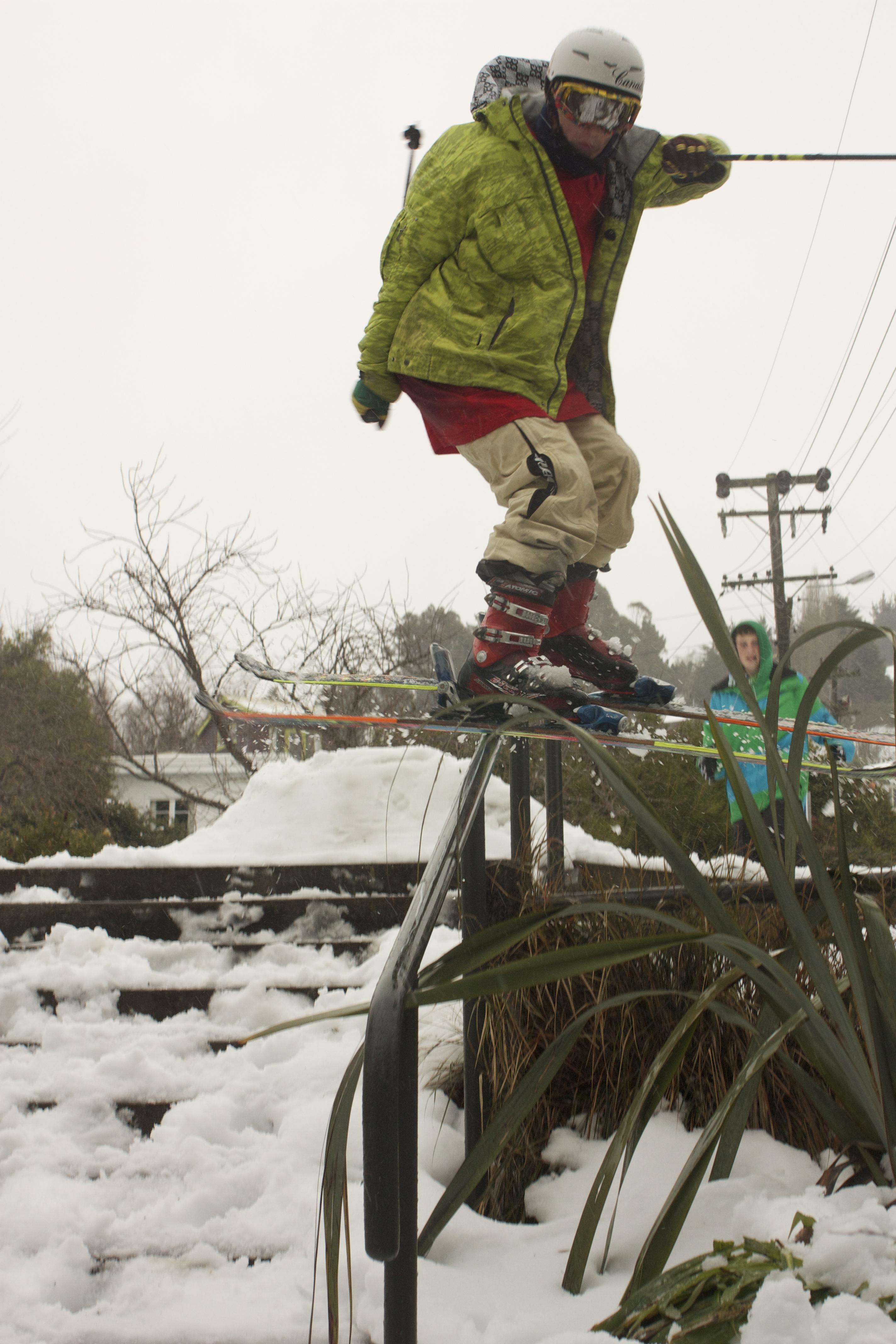 christchurch snow
