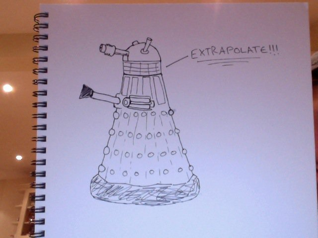 this dalek is doing it wrong